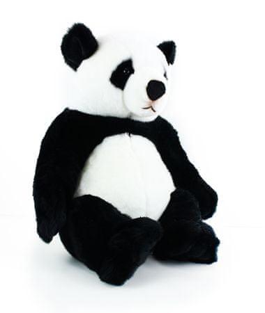 Rappa Ülő plüss panda, 46 cm