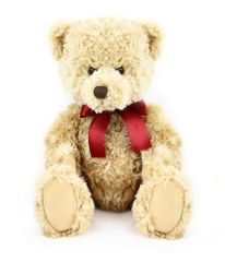Rappa Plyšový medveď retro sediaci 28 cm