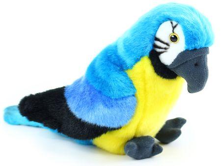 Rappa Plyšový papagáj sediaci,  25 cm