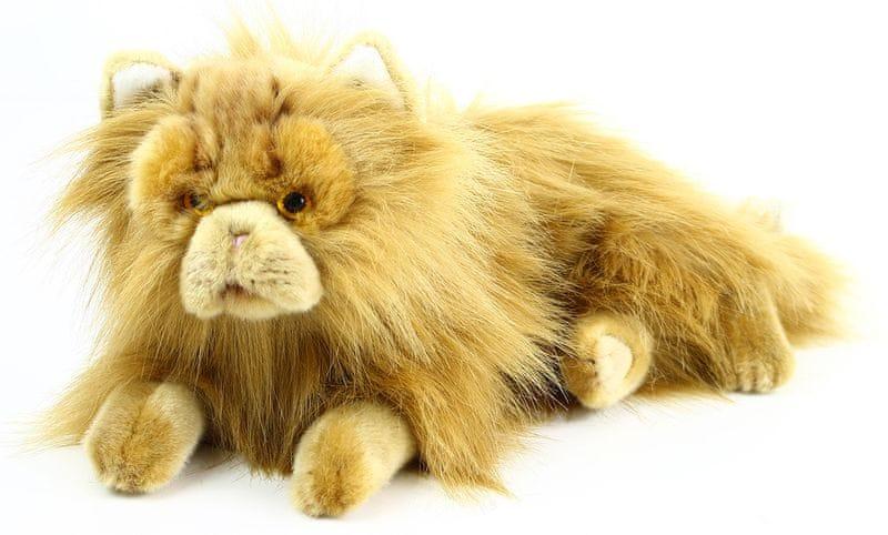 Rappa Plyšová kočka perská ležící, 30 cm