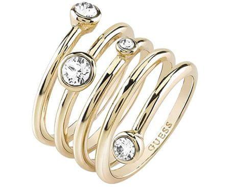 Luxusné špirálovitý prsteň UBR84056 (Obvod 54 mm)