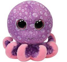 TY LEGS vijolična hobotnica, 24 cm