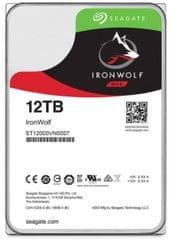 Seagate trdi disk NAS IronWolf Pro 12 TB, SATA 3, 7200, 256 MB