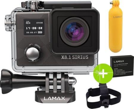 LAMAX Lamax X8.1 Sirius Akció Kamera outlet