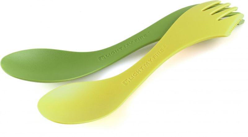 Light My Fire Spork Extra-Medium 2-Pack Lime/Green