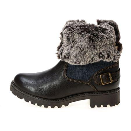 Wrangler ženski gležnarji Creek Denim Boot 36 rjava