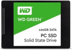 "WD SSD disk Green SATA3 6,35cm (2,5""), 120 GB (WDS120G2G0A)"