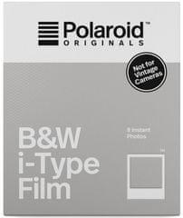 POLAROID Originals film i-Type, 8 kos, črno-bel