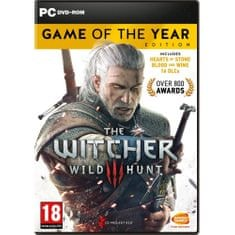 CD PROJEKT Witcher 3: Wild Hunt Game of The Year Edition (PC)