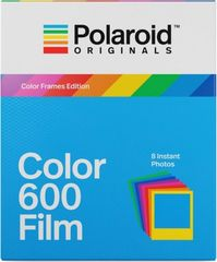POLAROID Originals 600 Colour 8 ks + barevné rámečky