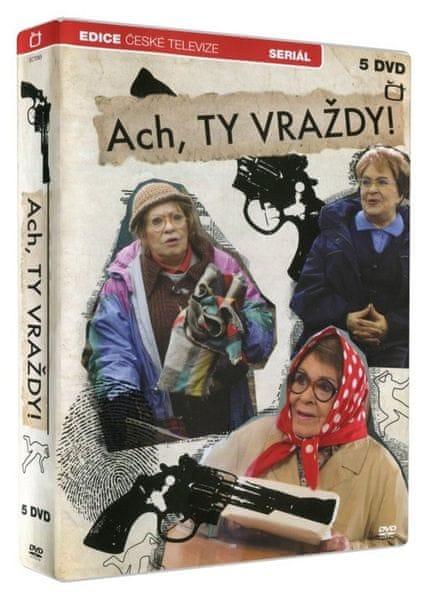 Ach, ty vraždy! (5DVD) - DVD