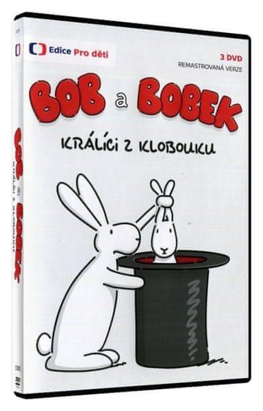Bob a Bobek: králíci z klobouku (3DVD) - HD remaster verze - DVD