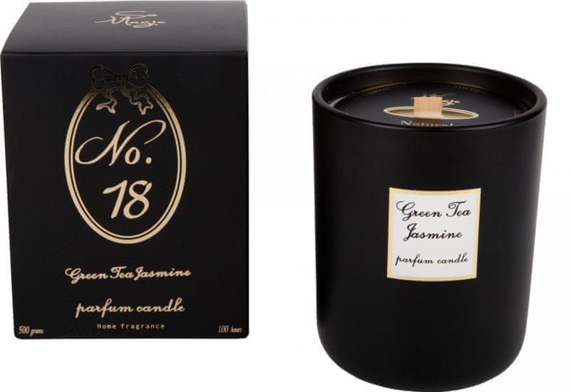 Wittkemper Vonná svíčka Green Tea a Jasmine 18