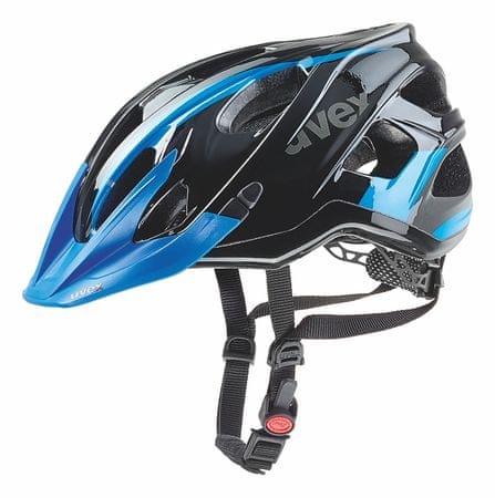 Uvex kask rowerowy Stivo C Black/Blue 52-57