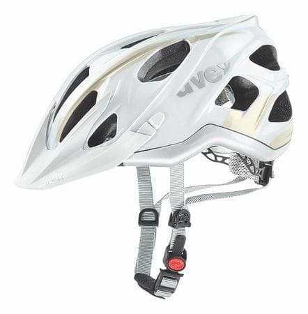 Uvex kask rowerowy Stivo C White/Champange 56-61