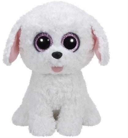 TY PIPPIE fehér kutya 24 cm