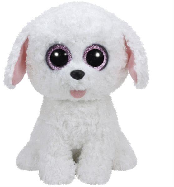 TY PIPPIE bílý pes 24 cm
