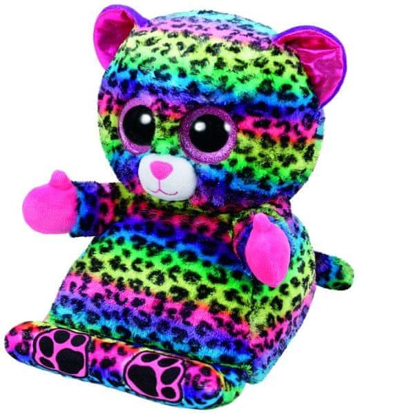 TY LANCE duhový leopard 25 cm držák na tablet