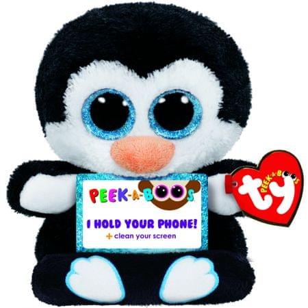 TY PENNI pingvin, držalo za telefon, 14 cm