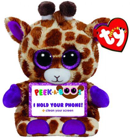 TY JESSE žirafa, držalo za telefon, 14 cm