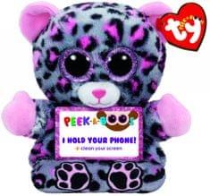 TY TRIXI leopard, držalo za telefon, 14 cm