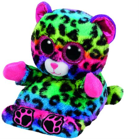 TY LANCE pisan leopard, držalo za telefon, 14 cm