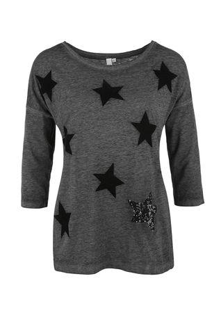 s.Oliver dámské tričko M čierna