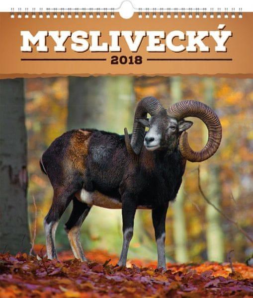 Nástěnný kalendář Myslivecký 2018