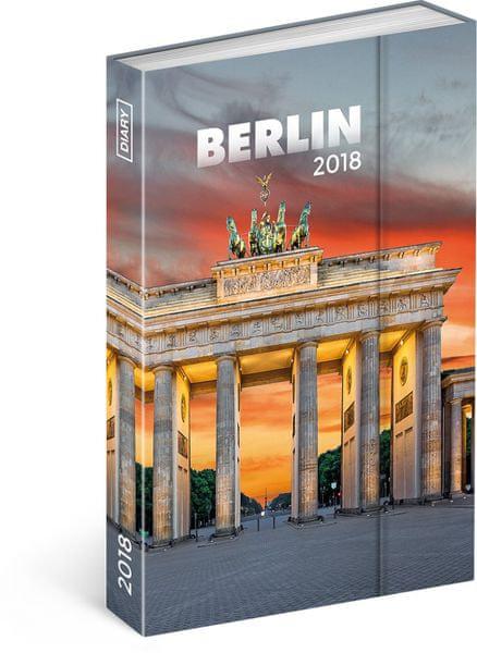 Týdenní magnetický diář Berlín 2018