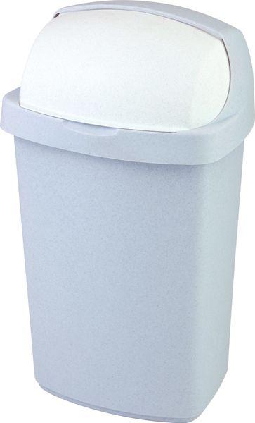 Curver Odpadkový koš Roll Top 50l šedý