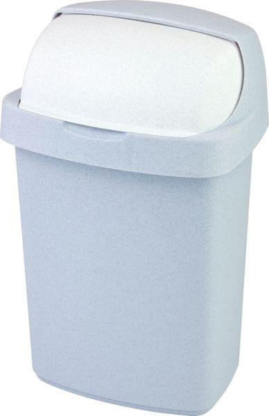 Curver Odpadkový koš Roll Top 25l šedý
