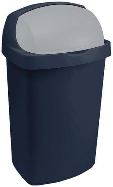 Curver Odpadkový koš Roll Top 25l modrý