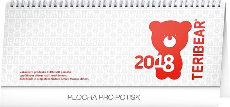 Stolní kalendář Teribear 2018