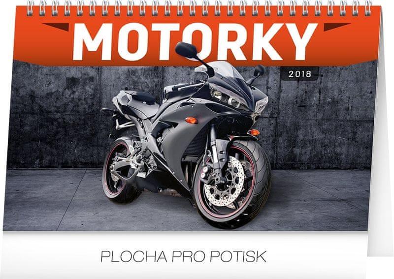 Stolní kalendář Motorky 2018