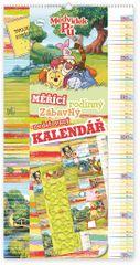 W. Disney Medvídek Pú - měřící kalendář