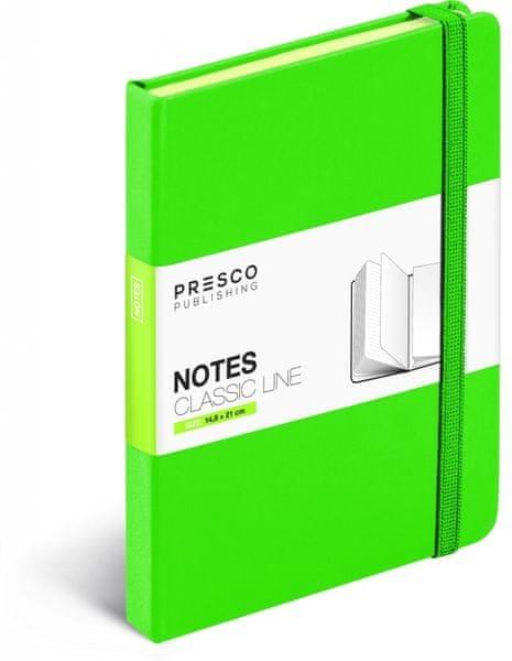 Notes Tucson zelená