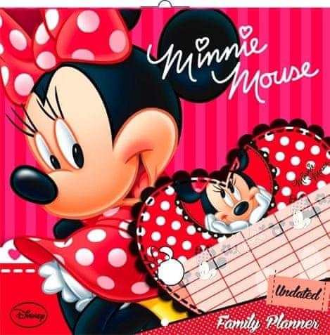 Plánovací kalendář Minnie, nedatovaný