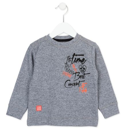 Losan chlapecké tričko 92 šedá