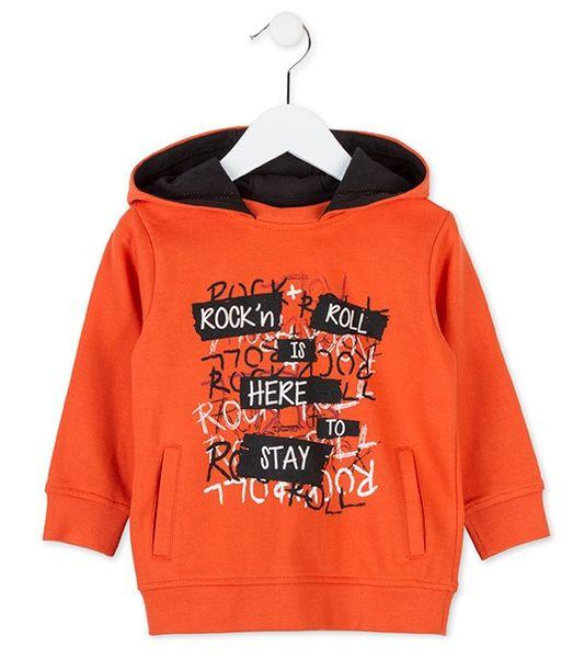 783b07ee40e Losan chlapecká mikina 110 oranžová