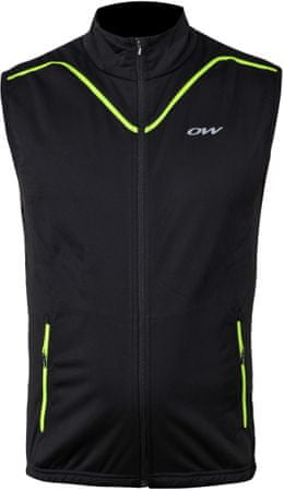 One Way Energon Softshell Vest Black M