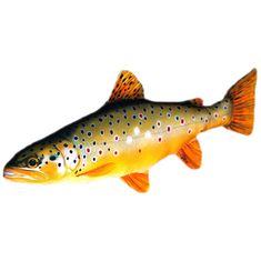 Gaby Plyšová Ryba Pstruh Obecný Potoční 62 cm