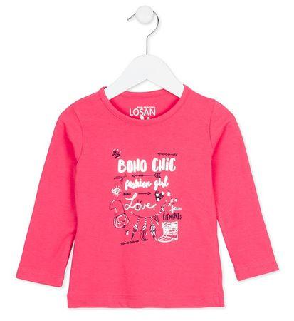 Losan dívčí tričko 98 růžová