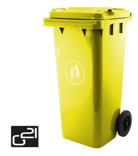 G21 Žlutá popelnice GA-120 L