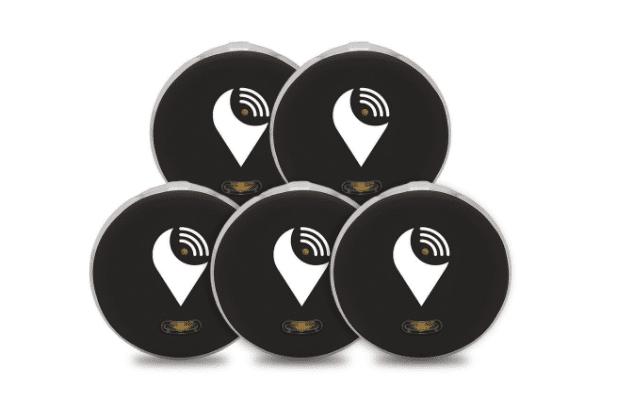 TrackR pixel - 5 Pack - černý