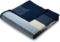 Biederlack Fashion and Comfort Blue Stripe 150x200 cm