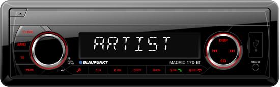 BLAUPUNKT radioodtwarzacz samochodowy Madrid 170 BT
