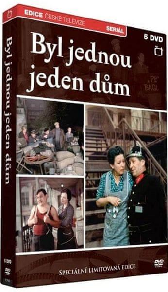 Byl jednou jeden dům (5DVD) - DVD