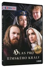 Hlas pro římského krále + bonus Náš Karel IV. (3DVD) -   DVD