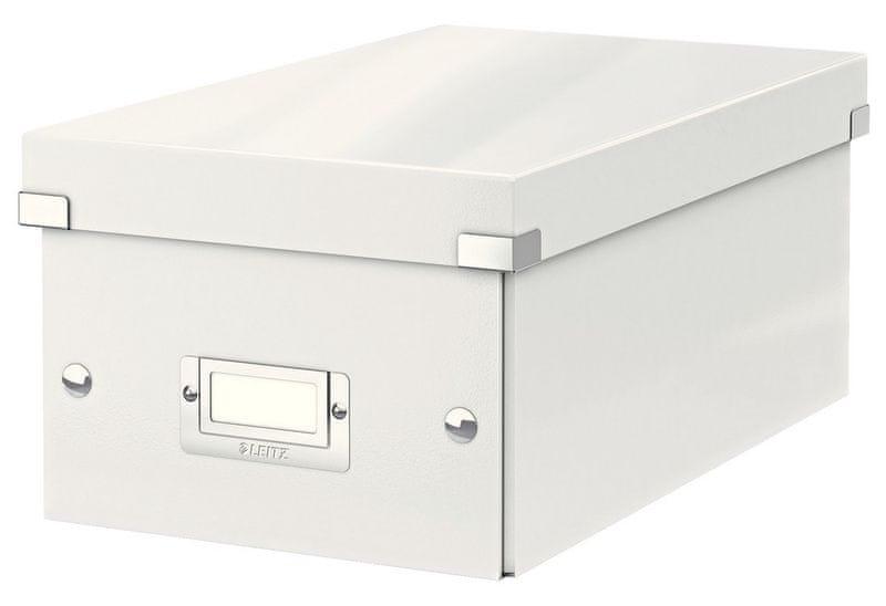 Krabice CLICK & STORE na DVD, bílá