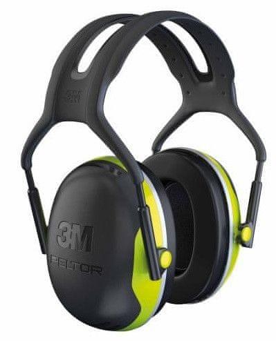 3M Ochranné sluchátka Peltor X4A _s plochou mušlí SNR33dB